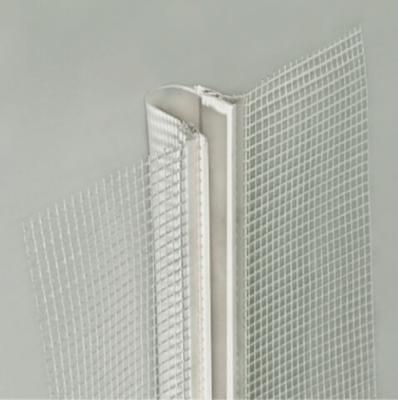 Profil dylatacyjny, prosty PCV z siatką